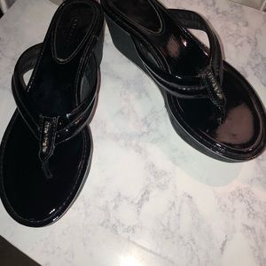 Preowned Coach Sandals
